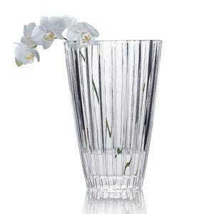 """New Mikasa 12"""" Revel Vase Crystal"""